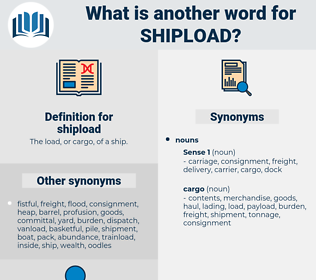 shipload, synonym shipload, another word for shipload, words like shipload, thesaurus shipload
