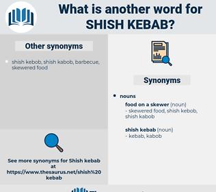 shish kebab, synonym shish kebab, another word for shish kebab, words like shish kebab, thesaurus shish kebab