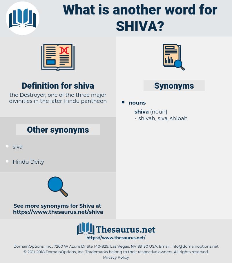 shiva, synonym shiva, another word for shiva, words like shiva, thesaurus shiva