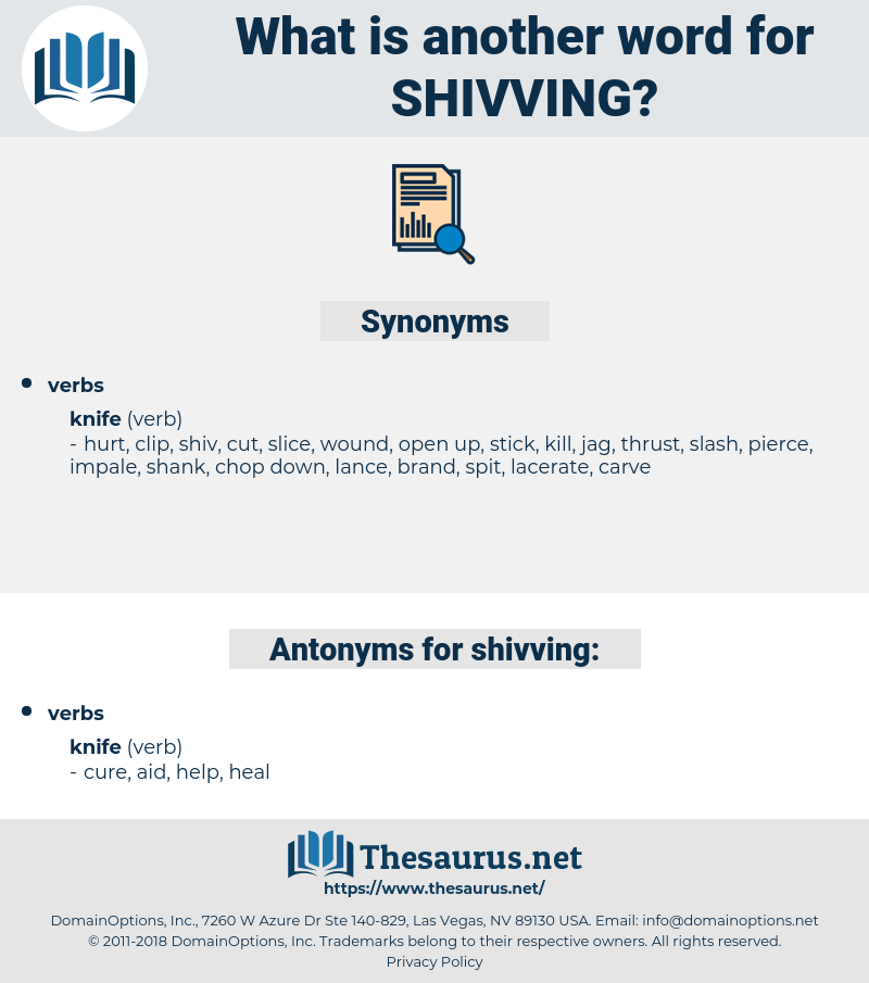 shivving, synonym shivving, another word for shivving, words like shivving, thesaurus shivving