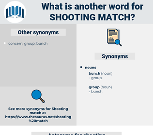 shooting match, synonym shooting match, another word for shooting match, words like shooting match, thesaurus shooting match