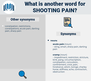 shooting pain, synonym shooting pain, another word for shooting pain, words like shooting pain, thesaurus shooting pain