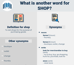 shop, synonym shop, another word for shop, words like shop, thesaurus shop