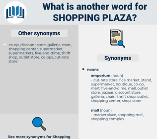 shopping plaza, synonym shopping plaza, another word for shopping plaza, words like shopping plaza, thesaurus shopping plaza
