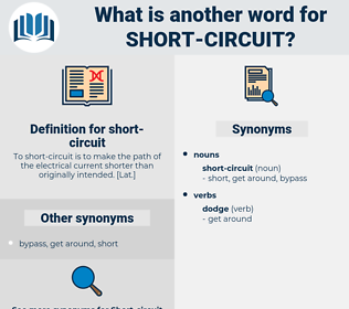 short-circuit, synonym short-circuit, another word for short-circuit, words like short-circuit, thesaurus short-circuit