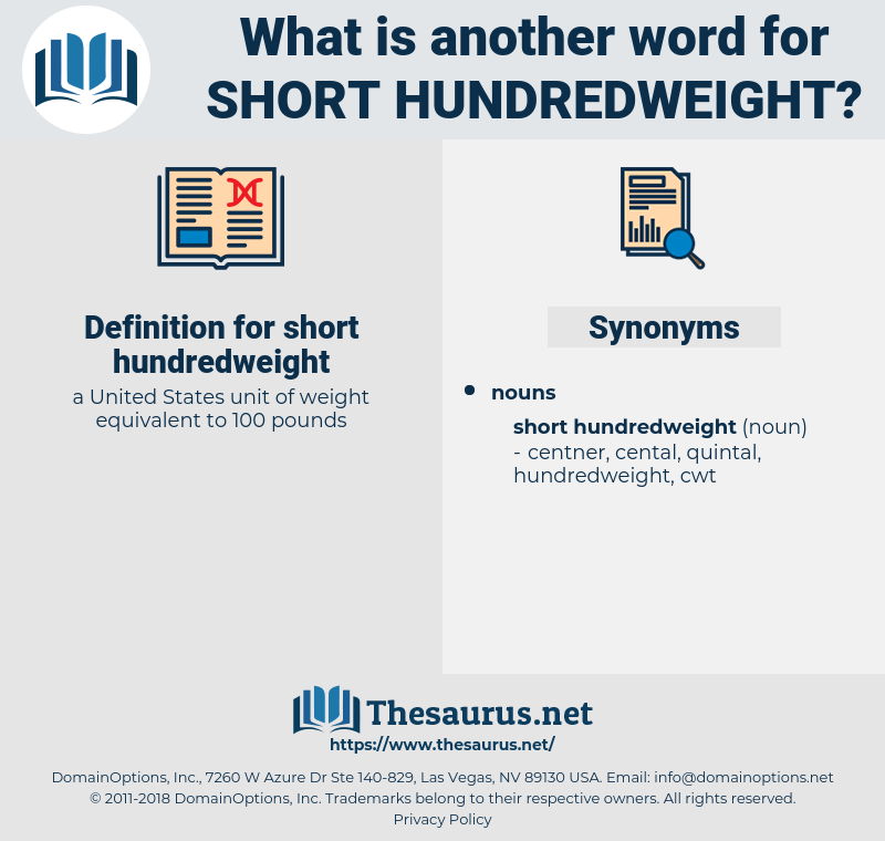 short hundredweight, synonym short hundredweight, another word for short hundredweight, words like short hundredweight, thesaurus short hundredweight