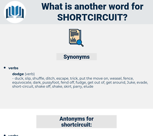 shortcircuit, synonym shortcircuit, another word for shortcircuit, words like shortcircuit, thesaurus shortcircuit