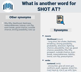 shot at, synonym shot at, another word for shot at, words like shot at, thesaurus shot at