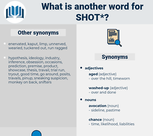 shot, synonym shot, another word for shot, words like shot, thesaurus shot