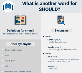 should, synonym should, another word for should, words like should, thesaurus should