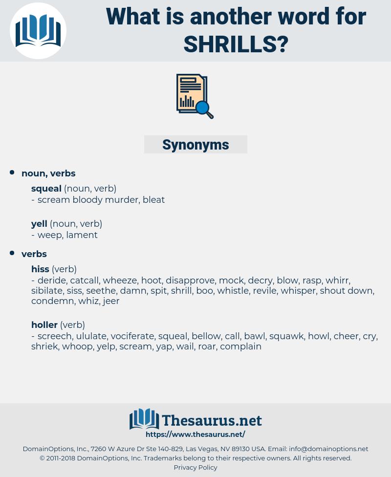 shrills, synonym shrills, another word for shrills, words like shrills, thesaurus shrills