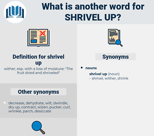 shrivel up, synonym shrivel up, another word for shrivel up, words like shrivel up, thesaurus shrivel up