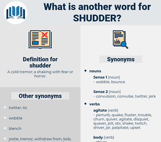 shudder, synonym shudder, another word for shudder, words like shudder, thesaurus shudder