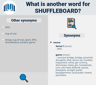 shuffleboard, synonym shuffleboard, another word for shuffleboard, words like shuffleboard, thesaurus shuffleboard