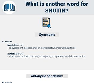 shutin, synonym shutin, another word for shutin, words like shutin, thesaurus shutin