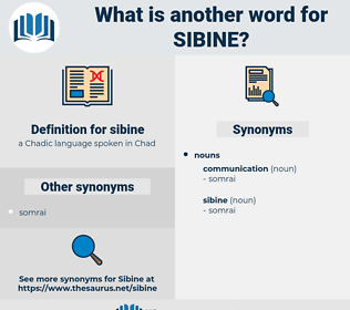 sibine, synonym sibine, another word for sibine, words like sibine, thesaurus sibine