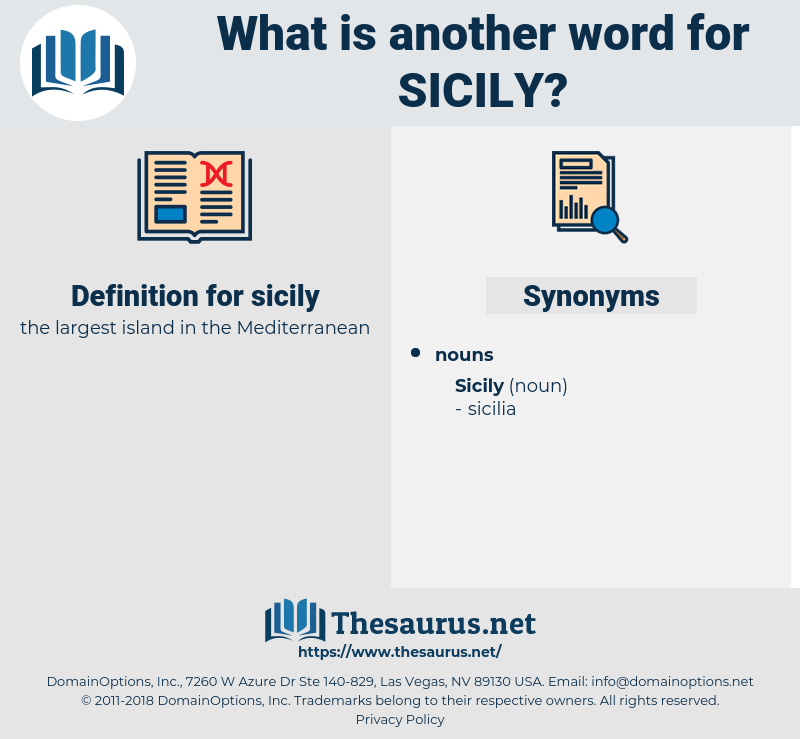 sicily, synonym sicily, another word for sicily, words like sicily, thesaurus sicily