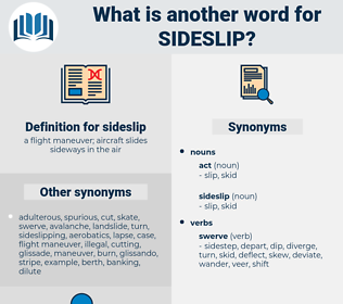 sideslip, synonym sideslip, another word for sideslip, words like sideslip, thesaurus sideslip