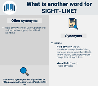 sight-line, synonym sight-line, another word for sight-line, words like sight-line, thesaurus sight-line