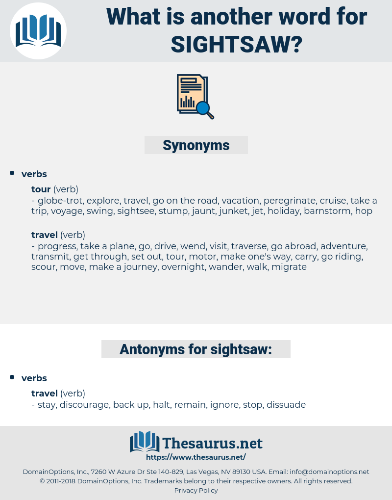 sightsaw, synonym sightsaw, another word for sightsaw, words like sightsaw, thesaurus sightsaw