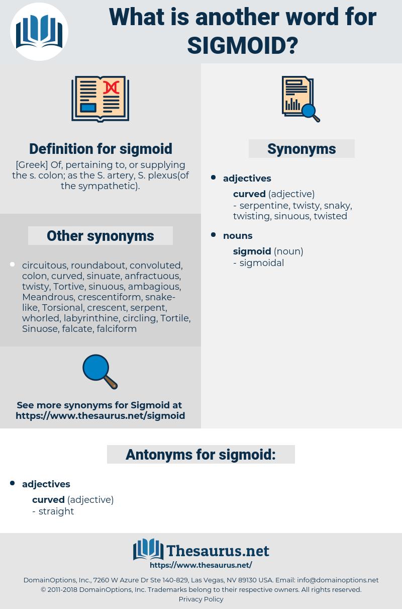 sigmoid, synonym sigmoid, another word for sigmoid, words like sigmoid, thesaurus sigmoid