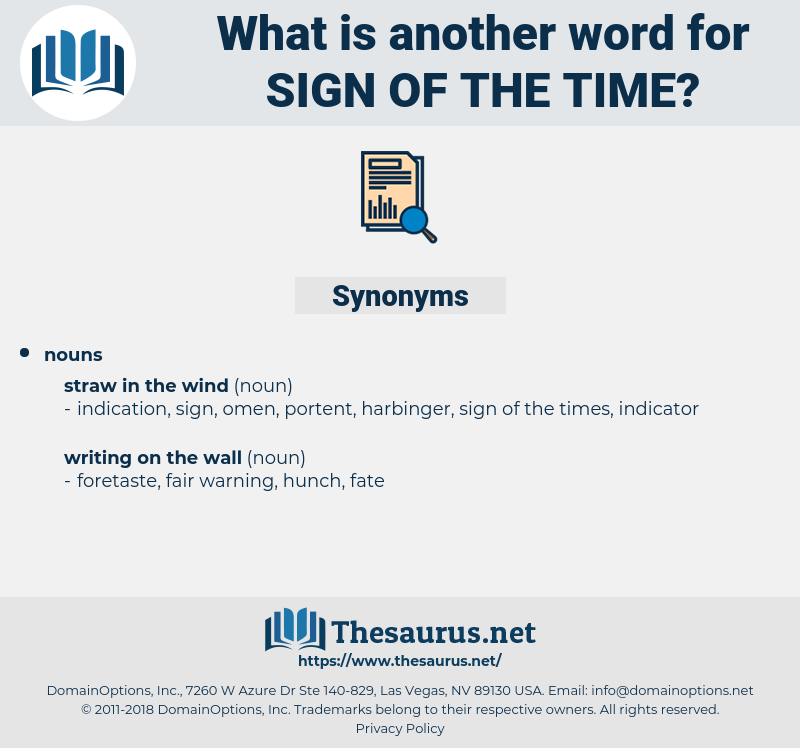 sign of the time, synonym sign of the time, another word for sign of the time, words like sign of the time, thesaurus sign of the time