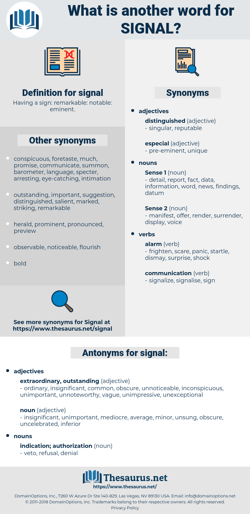 signal, synonym signal, another word for signal, words like signal, thesaurus signal