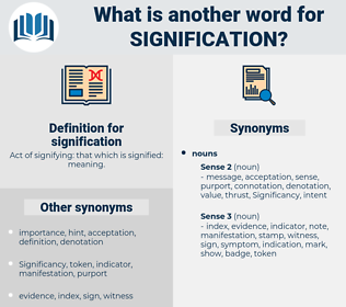 signification, synonym signification, another word for signification, words like signification, thesaurus signification