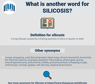 silicosis, synonym silicosis, another word for silicosis, words like silicosis, thesaurus silicosis