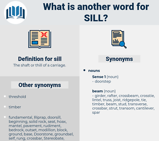 sill, synonym sill, another word for sill, words like sill, thesaurus sill