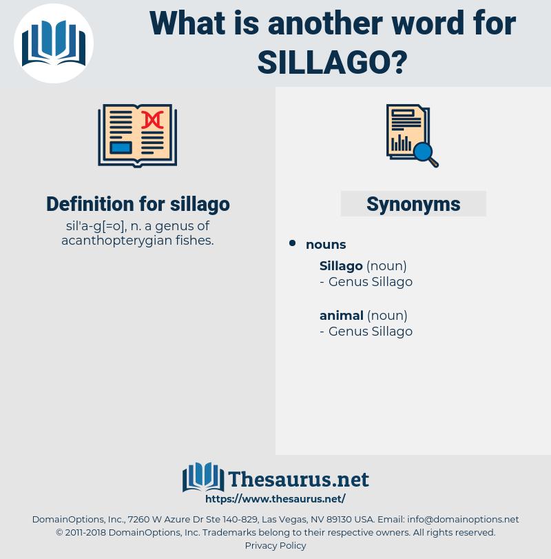 sillago, synonym sillago, another word for sillago, words like sillago, thesaurus sillago
