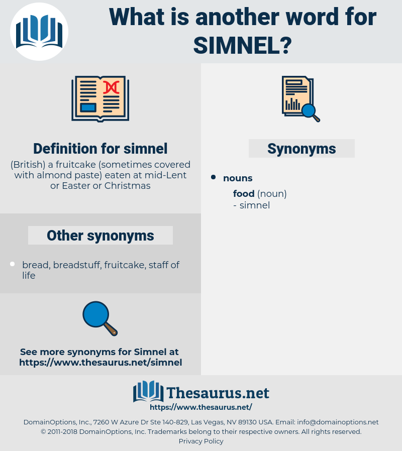 simnel, synonym simnel, another word for simnel, words like simnel, thesaurus simnel