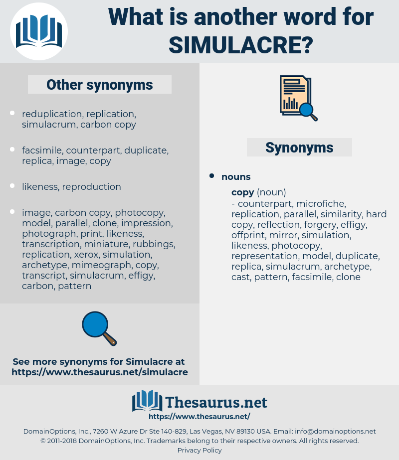simulacre, synonym simulacre, another word for simulacre, words like simulacre, thesaurus simulacre
