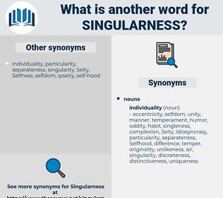 singularness, synonym singularness, another word for singularness, words like singularness, thesaurus singularness
