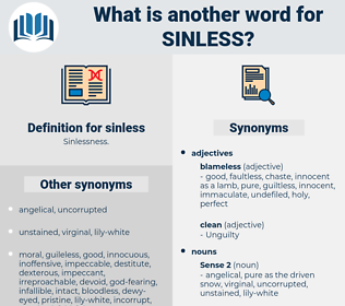 sinless, synonym sinless, another word for sinless, words like sinless, thesaurus sinless
