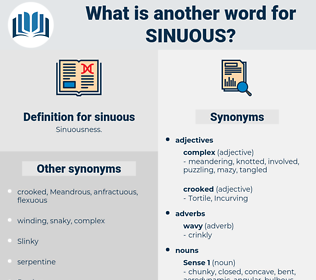 sinuous, synonym sinuous, another word for sinuous, words like sinuous, thesaurus sinuous