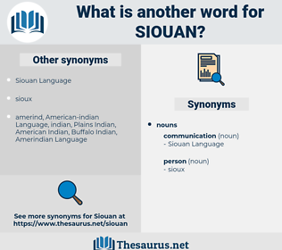 siouan, synonym siouan, another word for siouan, words like siouan, thesaurus siouan