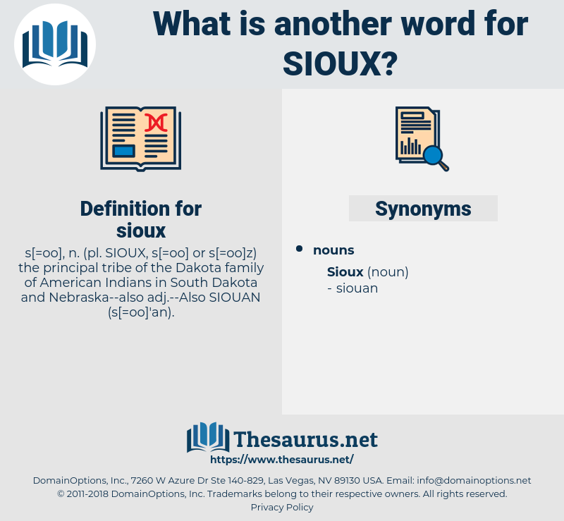 sioux, synonym sioux, another word for sioux, words like sioux, thesaurus sioux