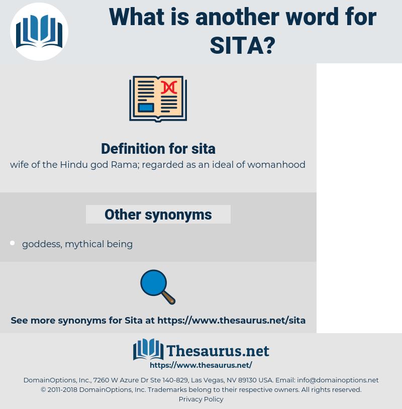 sita, synonym sita, another word for sita, words like sita, thesaurus sita