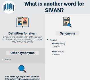 sivan, synonym sivan, another word for sivan, words like sivan, thesaurus sivan