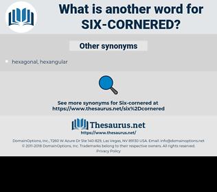 six-cornered, synonym six-cornered, another word for six-cornered, words like six-cornered, thesaurus six-cornered
