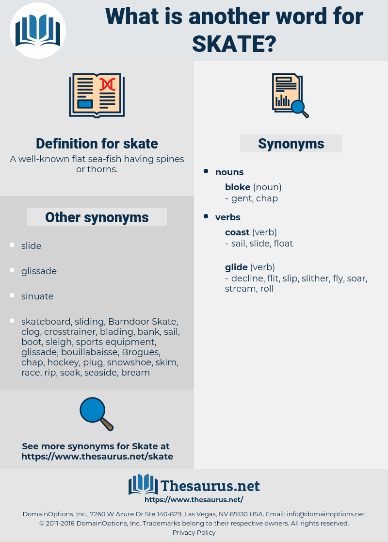 skate, synonym skate, another word for skate, words like skate, thesaurus skate