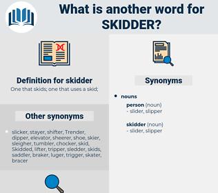skidder, synonym skidder, another word for skidder, words like skidder, thesaurus skidder