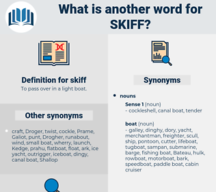 skiff, synonym skiff, another word for skiff, words like skiff, thesaurus skiff