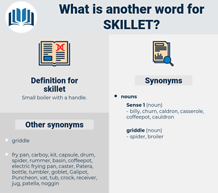 skillet, synonym skillet, another word for skillet, words like skillet, thesaurus skillet