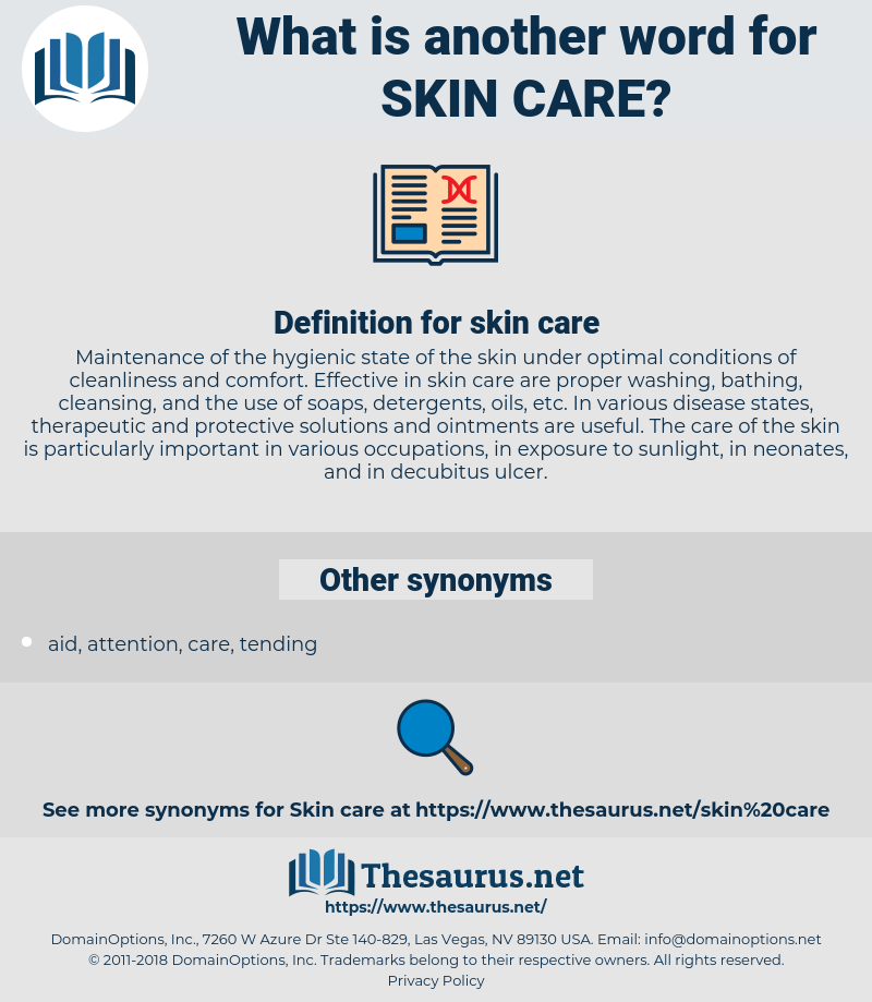 skin care, synonym skin care, another word for skin care, words like skin care, thesaurus skin care