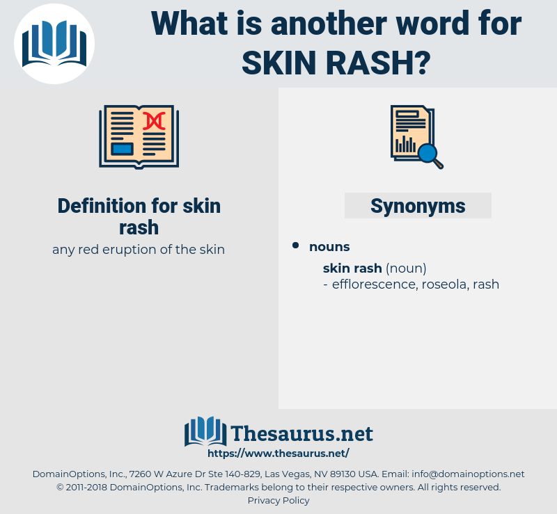 skin rash, synonym skin rash, another word for skin rash, words like skin rash, thesaurus skin rash