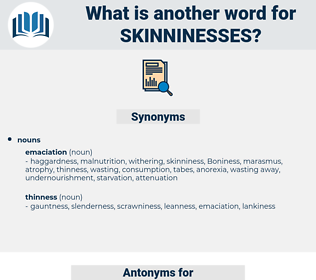 skinninesses, synonym skinninesses, another word for skinninesses, words like skinninesses, thesaurus skinninesses