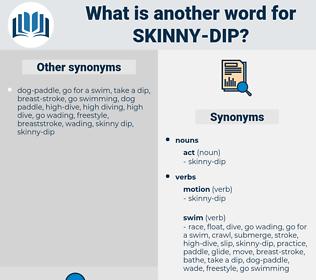 skinny dip, synonym skinny dip, another word for skinny dip, words like skinny dip, thesaurus skinny dip