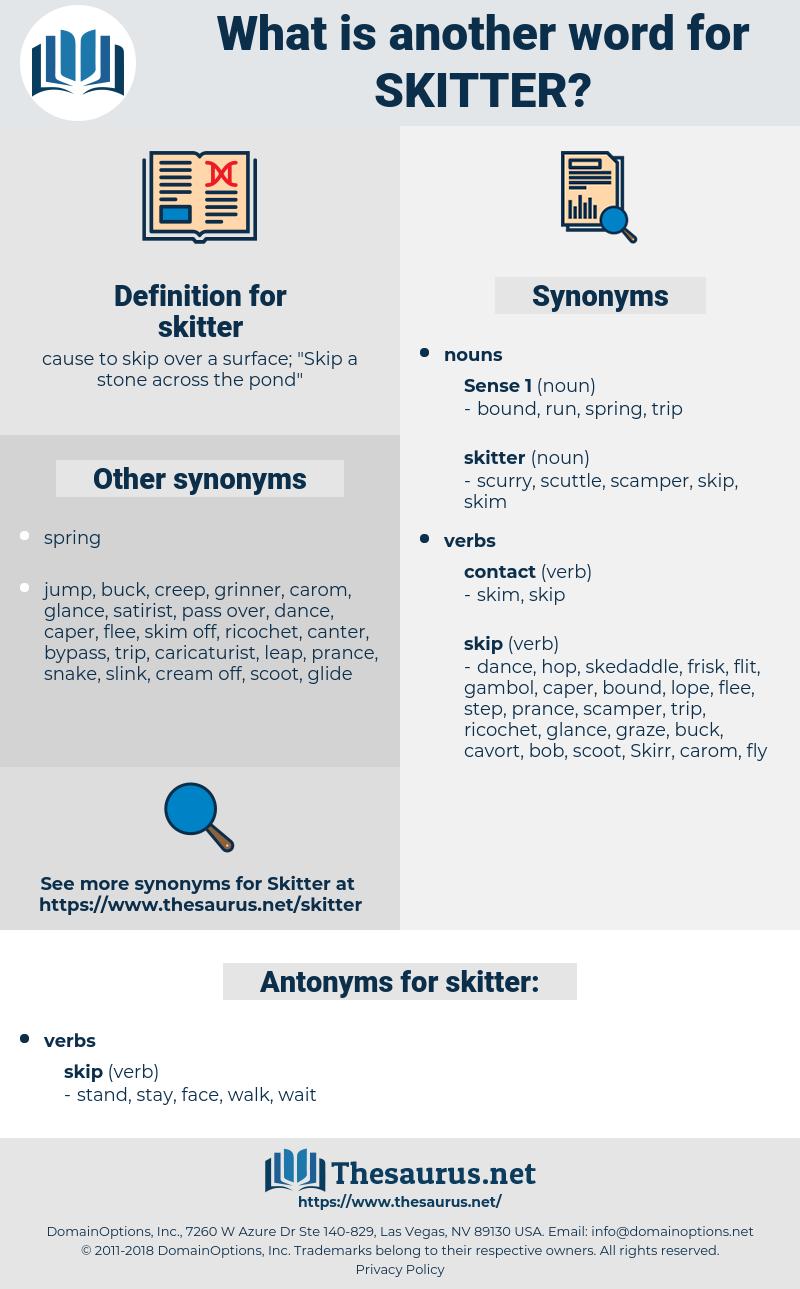 skitter, synonym skitter, another word for skitter, words like skitter, thesaurus skitter